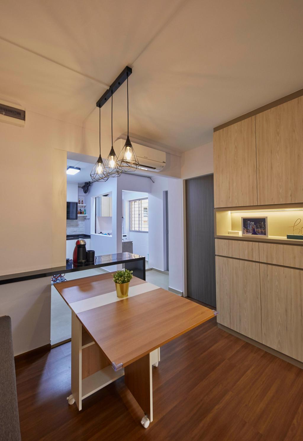Modern, HDB, Dining Room, Tampines Street 83, Interior Designer, i-Chapter