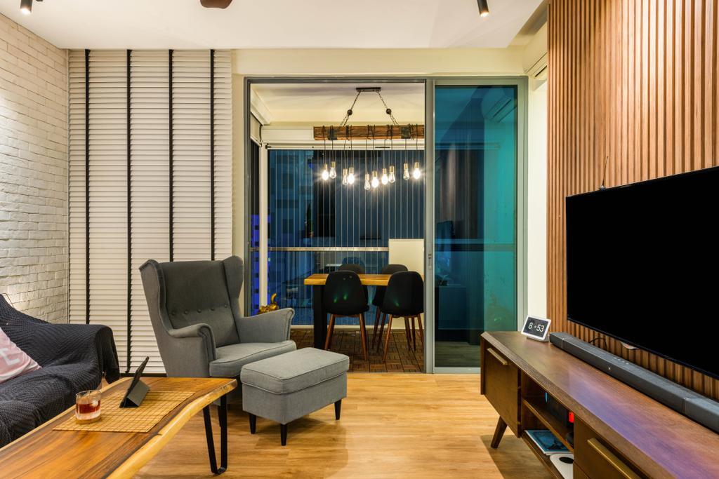 Contemporary, Condo, Living Room, The Canopy, Interior Designer, Ace's Design, Scandinavian