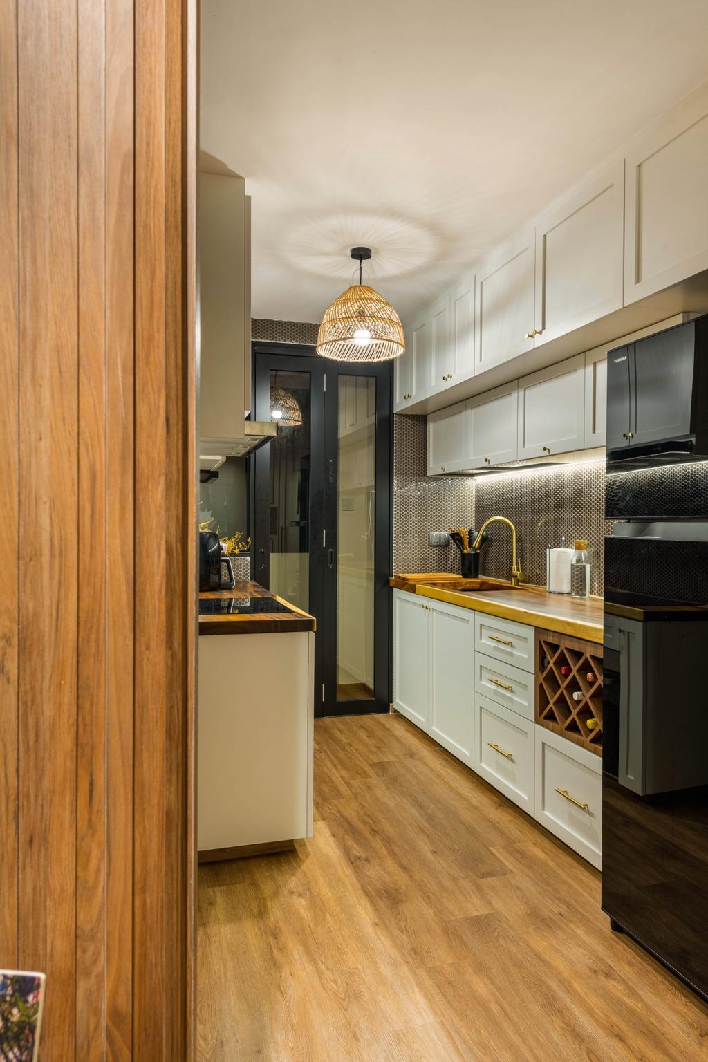 Contemporary, Condo, Kitchen, The Canopy, Interior Designer, Ace's Design, Scandinavian