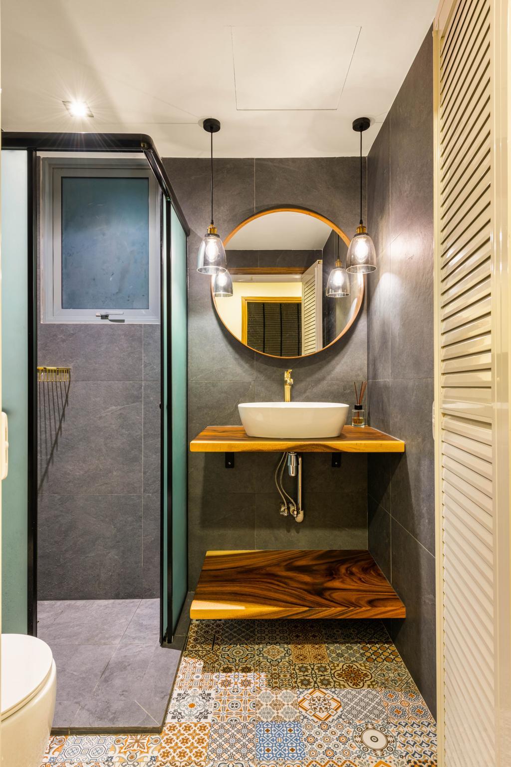 Contemporary, Condo, Bathroom, The Canopy, Interior Designer, Ace's Design, Scandinavian