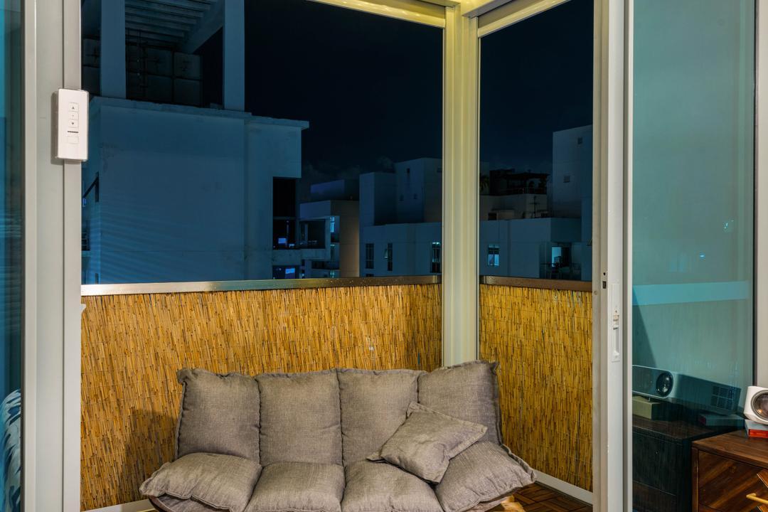 The Canopy, Ace's Design, Contemporary, Scandinavian, Balcony, Condo