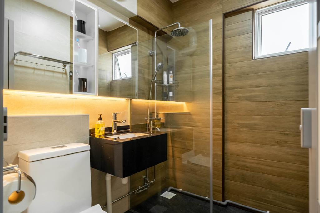 Modern, HDB, Bathroom, Hougang Street 51, Interior Designer, Design 4 Space