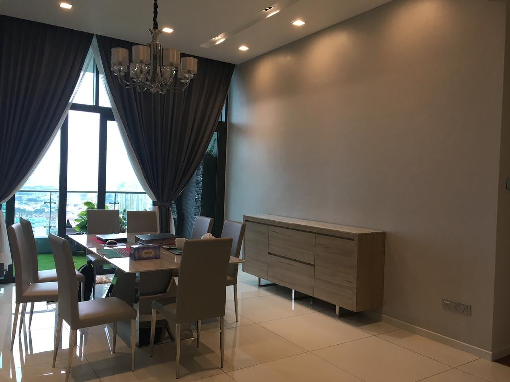 Contemporary, Condo, Tropicana Grande, Interior Designer, Fukuto Services