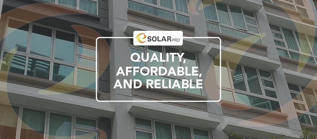E Solar Pro Window Films 2