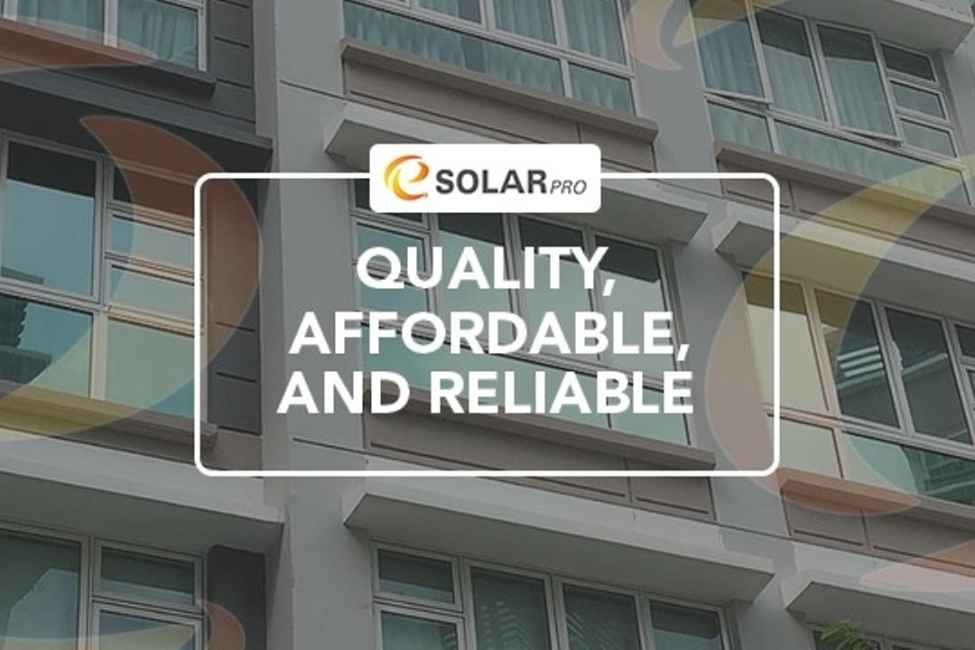 E Solar Pro Window Films 1