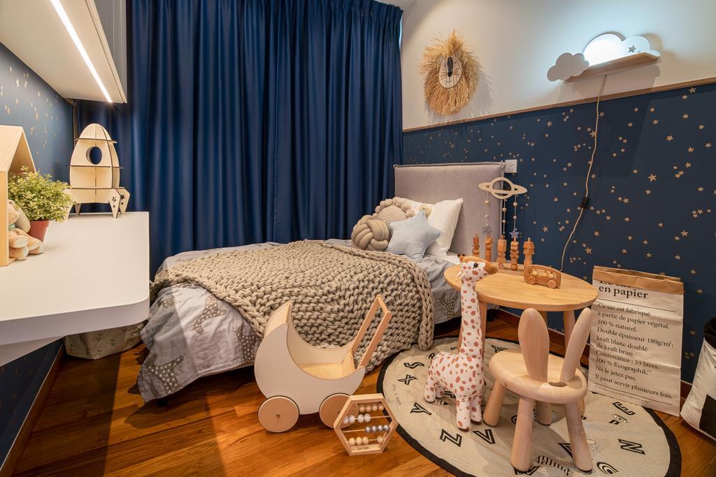 Contemporary, Condo, Bedroom, Tre Residences, Interior Designer, Mr Shopper Studio