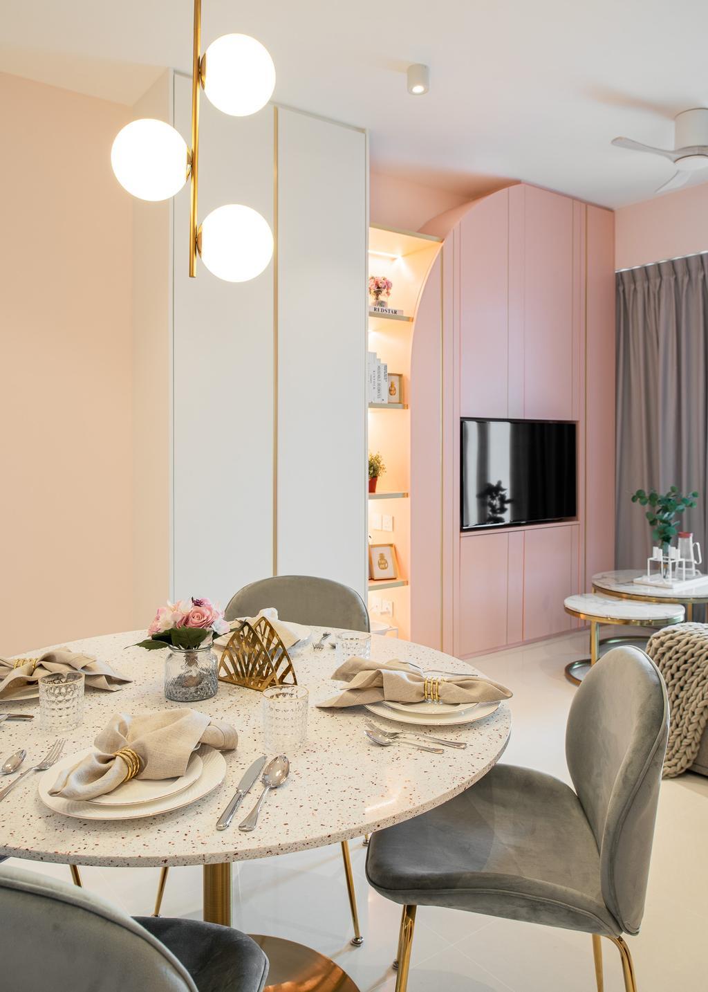 Contemporary, Condo, Dining Room, Tre Residences, Interior Designer, Mr Shopper Studio