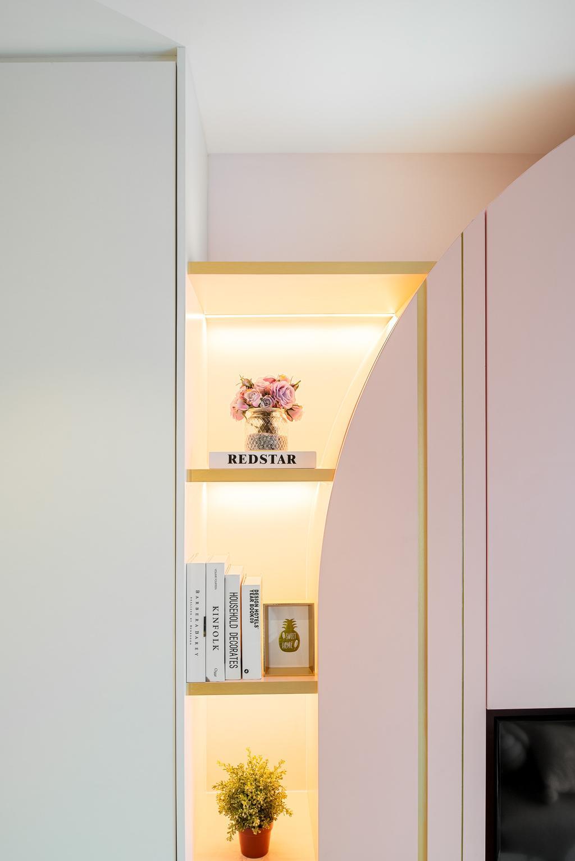 Contemporary, Condo, Living Room, Tre Residences, Interior Designer, Mr Shopper Studio