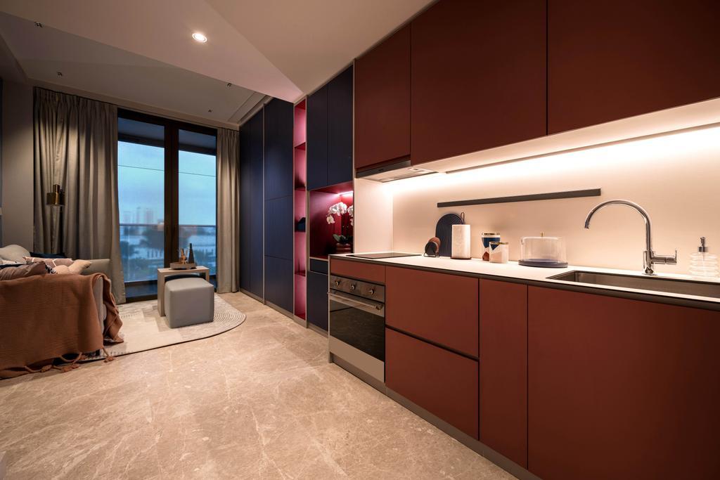 Contemporary, Condo, Kitchen, Park Place Residences, Interior Designer, Mr Shopper Studio