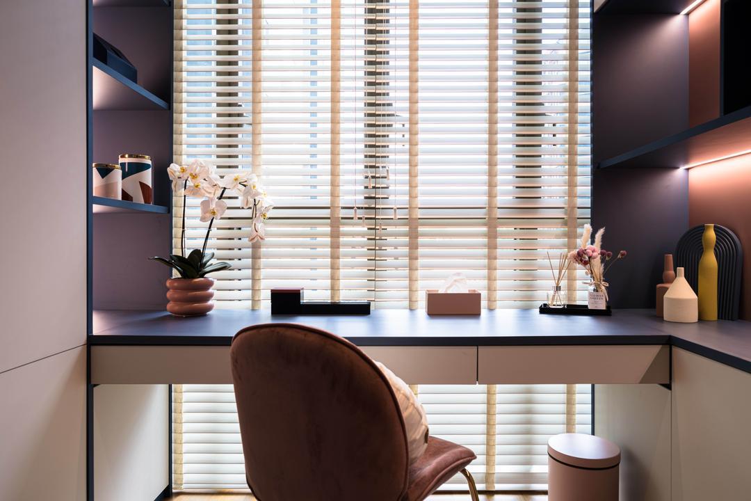 Park Place Residences, Mr Shopper Studio, Contemporary, Study, Condo