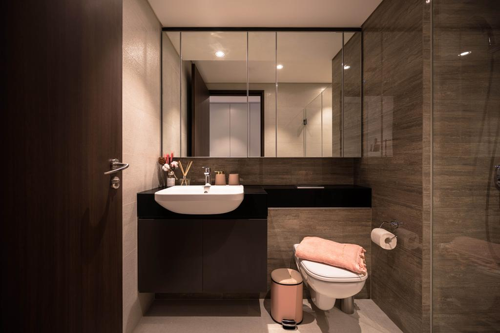Contemporary, Condo, Bathroom, Park Place Residences, Interior Designer, Mr Shopper Studio