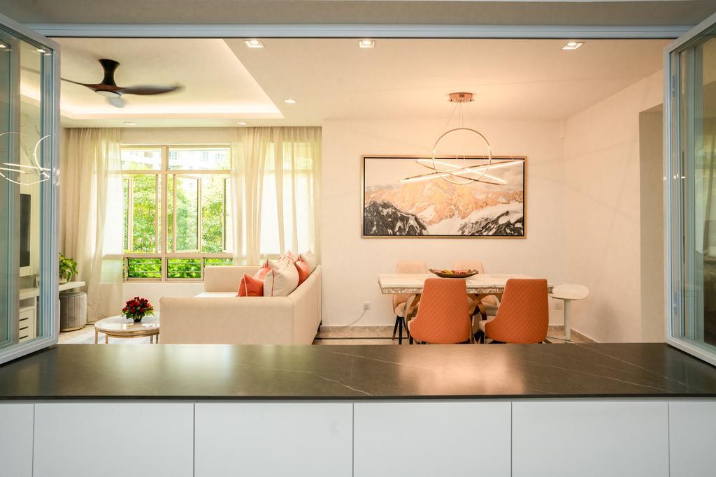 Modern, Condo, Dining Room, Northvale, Interior Designer, ChengYi Interior Design, Contemporary