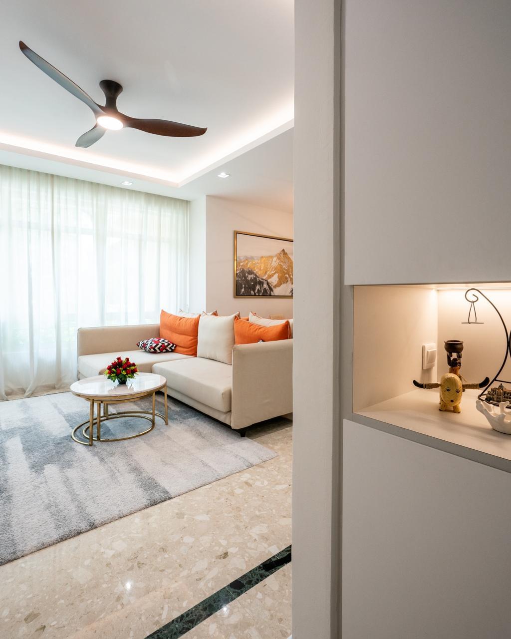 Modern, Condo, Living Room, Northvale, Interior Designer, ChengYi Interior Design, Contemporary