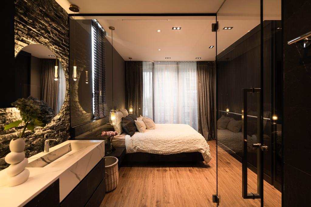 Modern, Condo, Bedroom, Sant Ritz, Interior Designer, SHE Interior