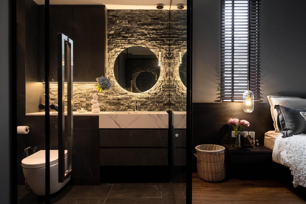 Modern, Condo, Bathroom, Sant Ritz, Interior Designer, SHE Interior