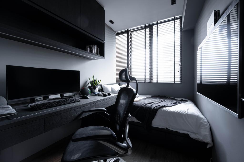 Modern, Condo, Study, Sant Ritz, Interior Designer, SHE Interior