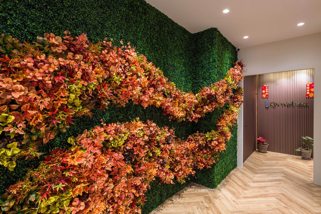 Sims Lane, Orange Interior, Contemporary, Commercial