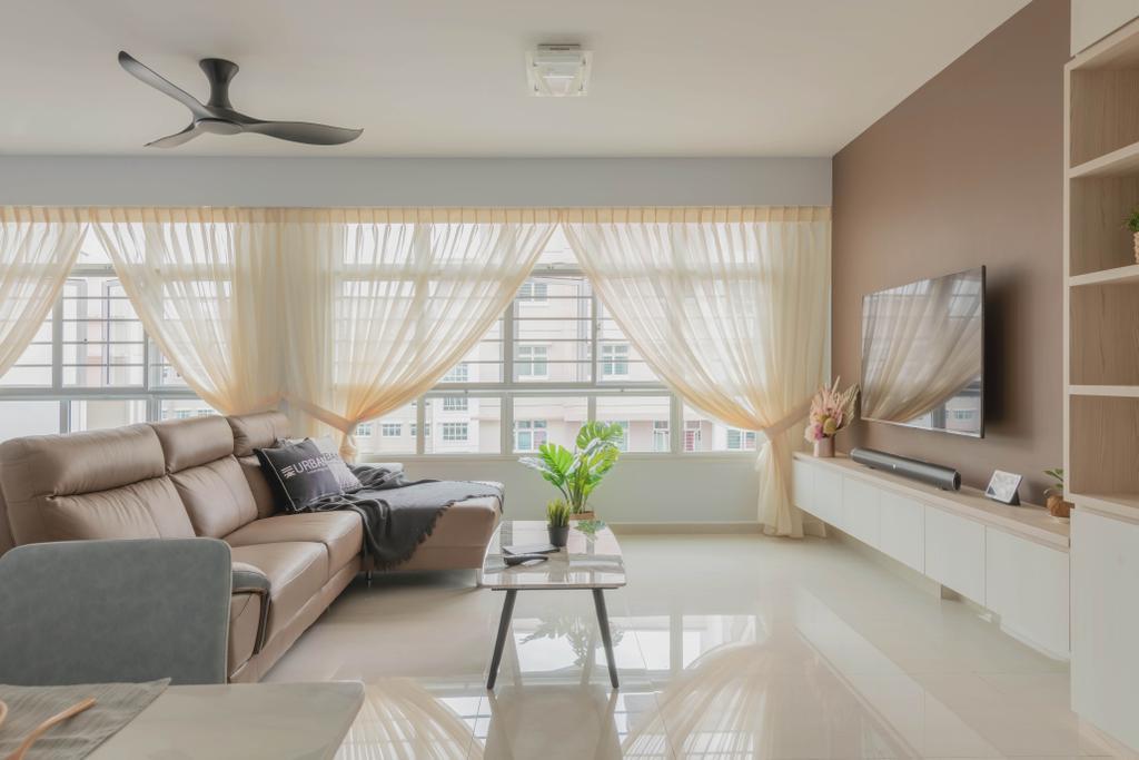Modern, HDB, Yishun Avenue 9, Interior Designer, Urban Home Design 二本設計家, Scandinavian