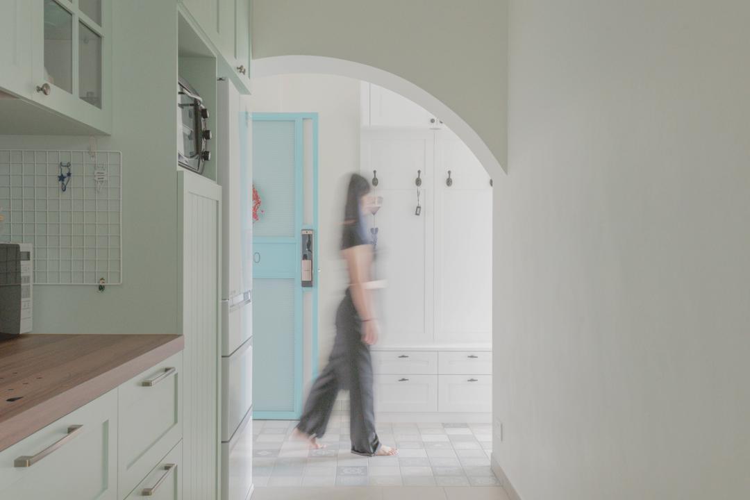 Bukit Batok West, Urban Home Design 二本設計家, Modern, Scandinavian, Kitchen, HDB