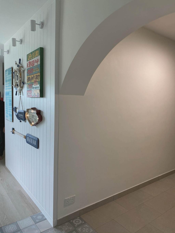 Modern, HDB, Living Room, Bukit Batok West, Interior Designer, Urban Home Design 二本設計家, Scandinavian
