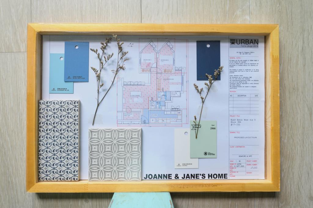 Modern, HDB, Bukit Batok West, Interior Designer, Urban Home Design 二本設計家, Scandinavian