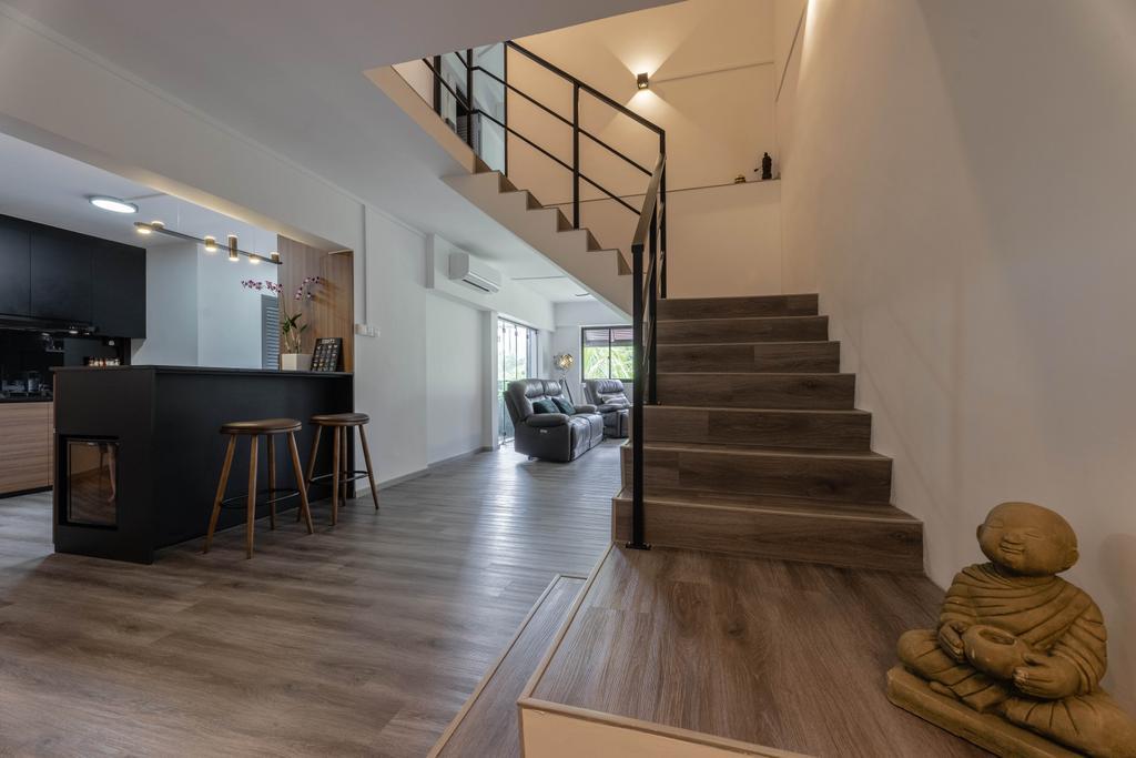 Contemporary, HDB, Pasir Ris Street 11, Interior Designer, Todz'Terior