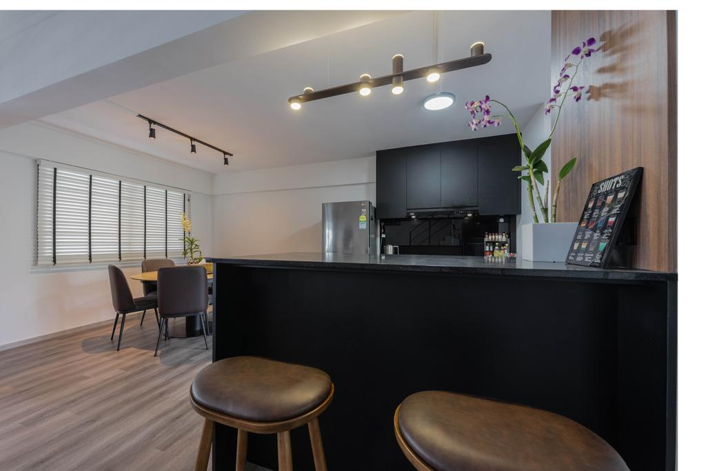 Contemporary, HDB, Kitchen, Pasir Ris Street 11, Interior Designer, Todz'Terior