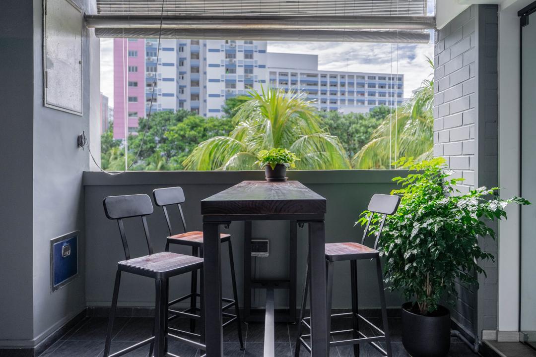 Pasir Ris Street 11, Todz'Terior, Contemporary, Balcony, HDB