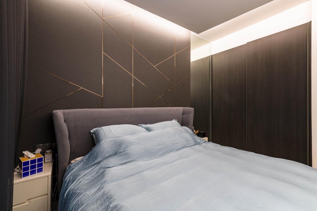 Modern, Condo, Bedroom, iNz Residence, Interior Designer, Orange Interior, Contemporary