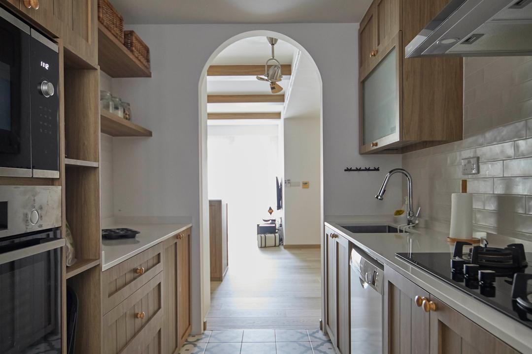 Grand Duchess, The Interior Lab, Scandinavian, Kitchen, Condo
