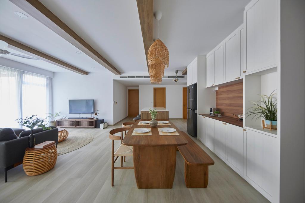 Scandinavian, Condo, Dining Room, Grand Duchess, Interior Designer, The Interior Lab