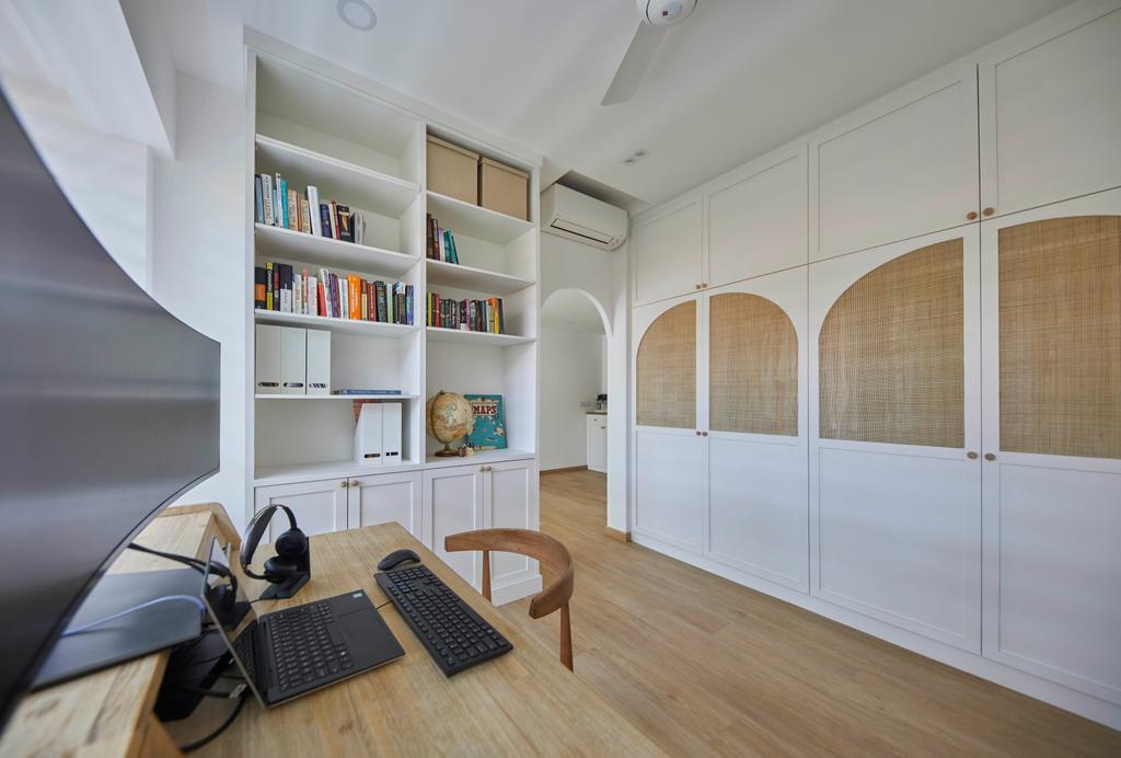 Scandinavian, Condo, Study, Grand Duchess, Interior Designer, The Interior Lab