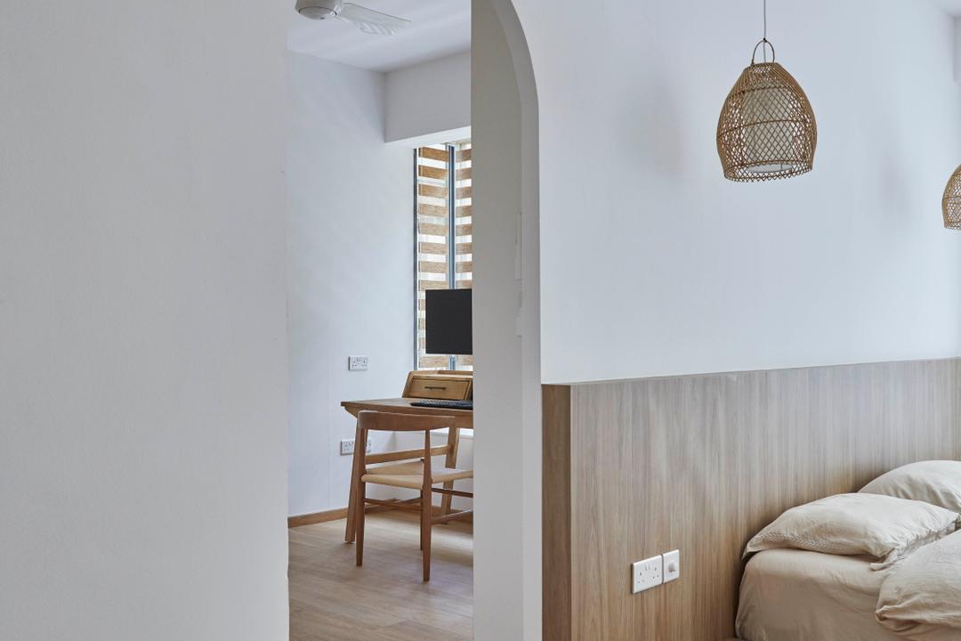 Grand Duchess, The Interior Lab, Scandinavian, Bedroom, Condo