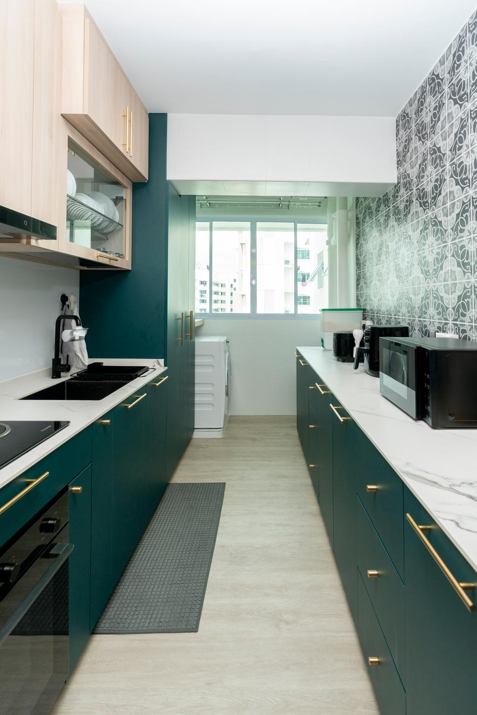 Contemporary, HDB, Kitchen, Yishun Avenue 9, Interior Designer, ChengYi Interior Design