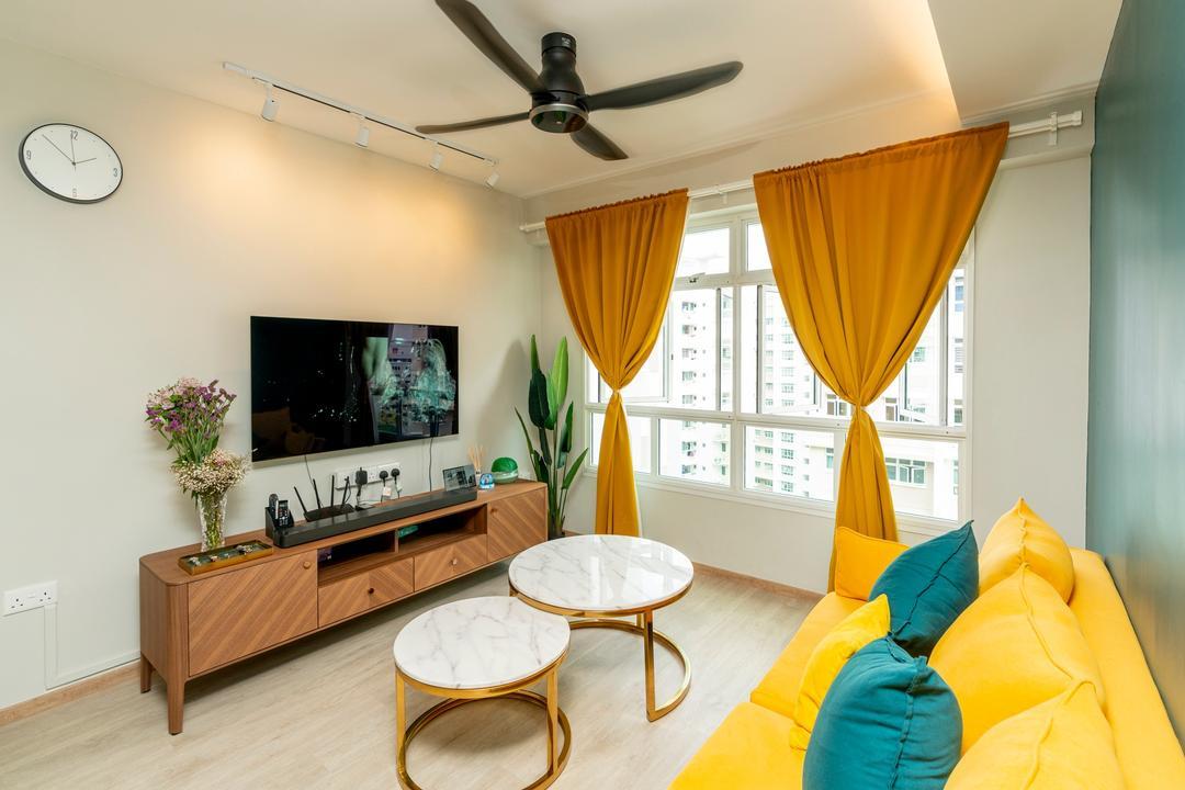 Yishun Avenue 9 Living Room Interior Design 21