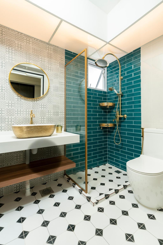 Contemporary, HDB, Bathroom, Yishun Avenue 9, Interior Designer, ChengYi Interior Design