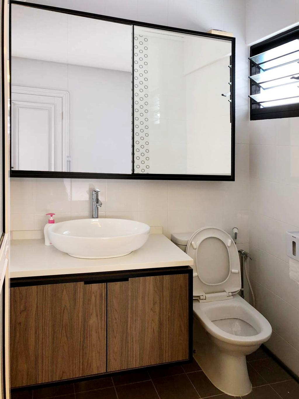 Contemporary, HDB, Bathroom, Geylang East, Interior Designer, 360 Interior