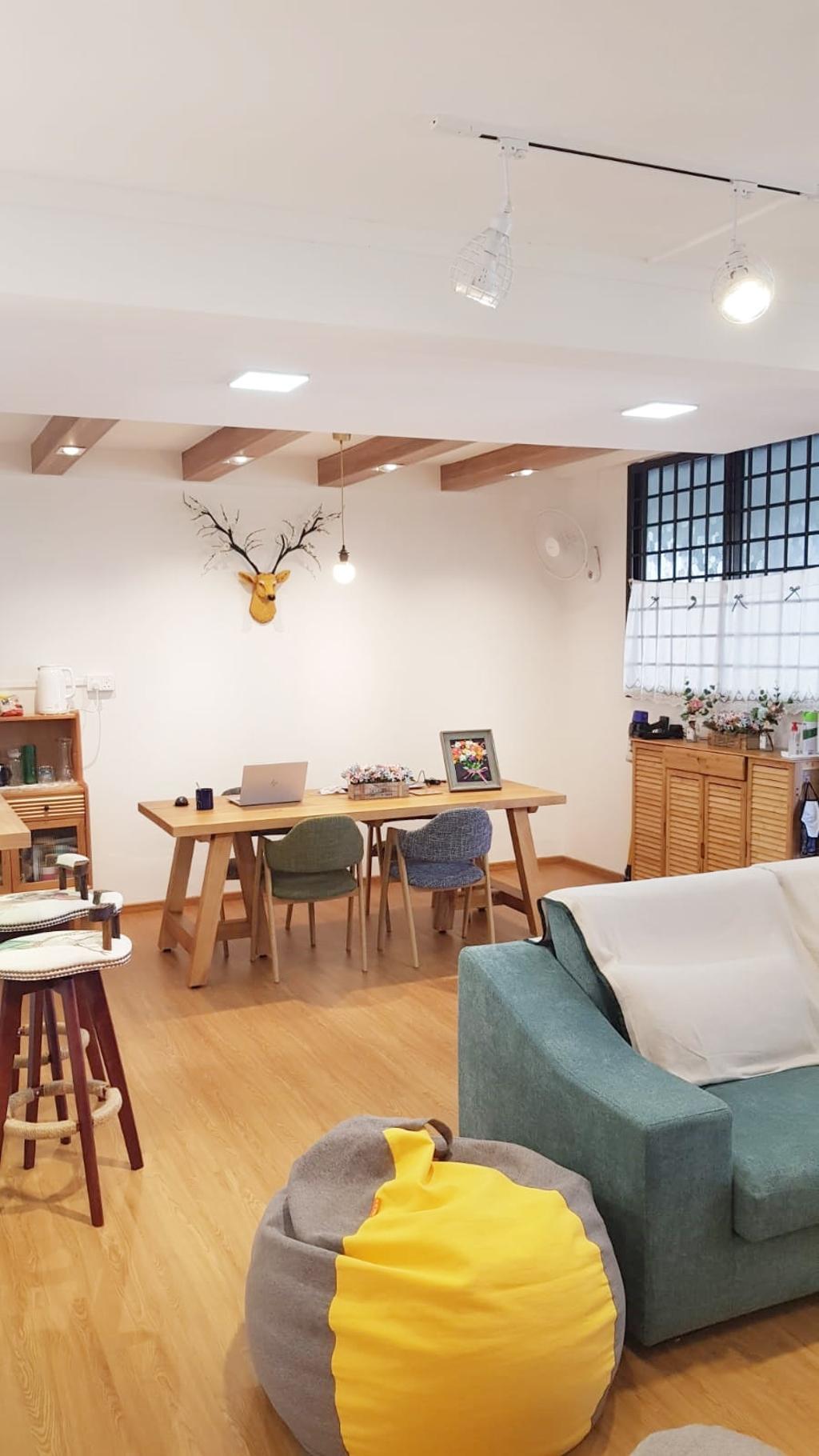 Modern, HDB, Dining Room, Yishun Street Avenue 11, Interior Designer, 360 Interior, Scandinavian