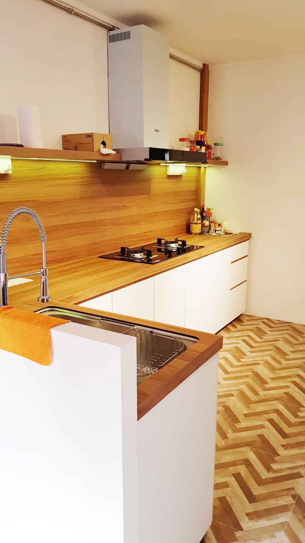 Modern, HDB, Kitchen, Yishun Street Avenue 11, Interior Designer, 360 Interior, Scandinavian