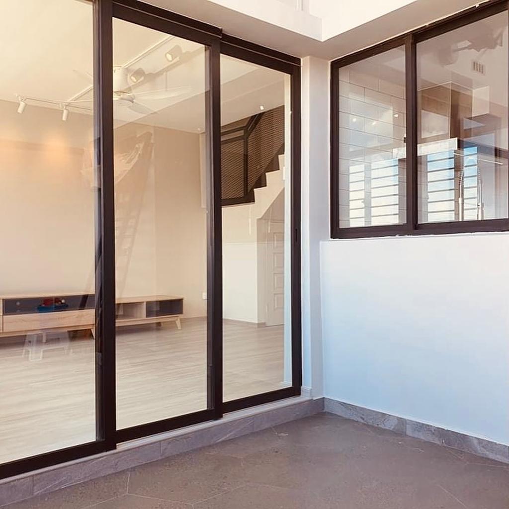 Modern, HDB, Balcony, Bishan Street 21, Interior Designer, 360 Interior, Contemporary