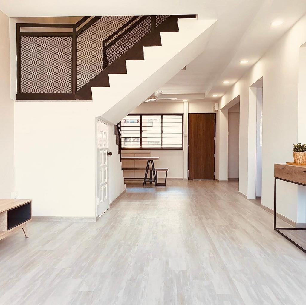 Modern, HDB, Living Room, Bishan Street 21, Interior Designer, 360 Interior, Contemporary, Maisonette
