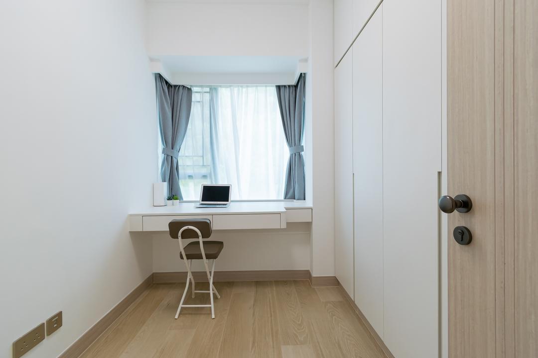 帝景居, 現時設計, 北歐, 簡約, 睡房, 私家樓