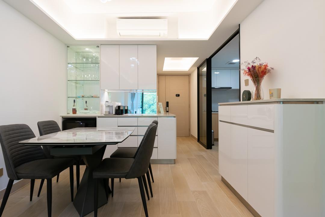 帝景居, 現時設計, 北歐, 簡約, 飯廳, 私家樓