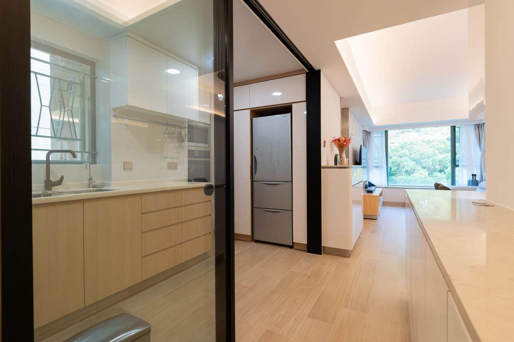 北歐, 私家樓, 廚房, 帝景居, 室內設計師, 現時設計, 簡約
