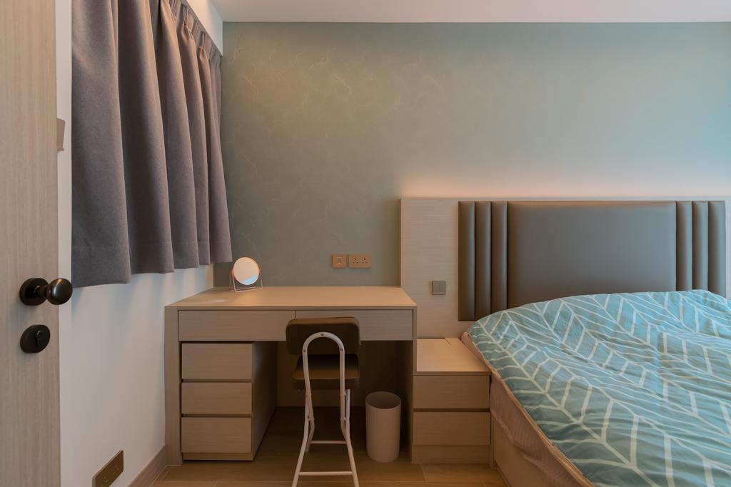 北歐, 私家樓, 睡房, 帝景居, 室內設計師, 現時設計, 簡約