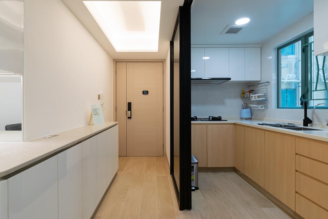 帝景居, 現時設計, 北歐, 簡約, 廚房, 私家樓
