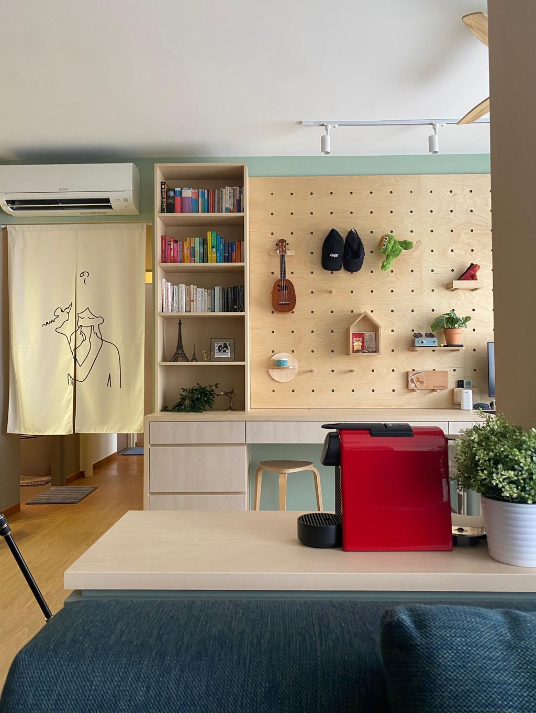Contemporary, HDB, Living Room, Sumang Walk, Interior Designer, Thom Signature Design