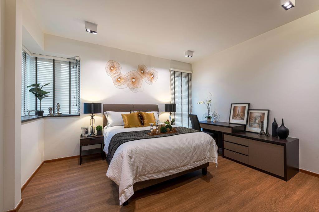 Modern, Condo, Bedroom, The Floravale, Interior Designer, Thom Signature Design