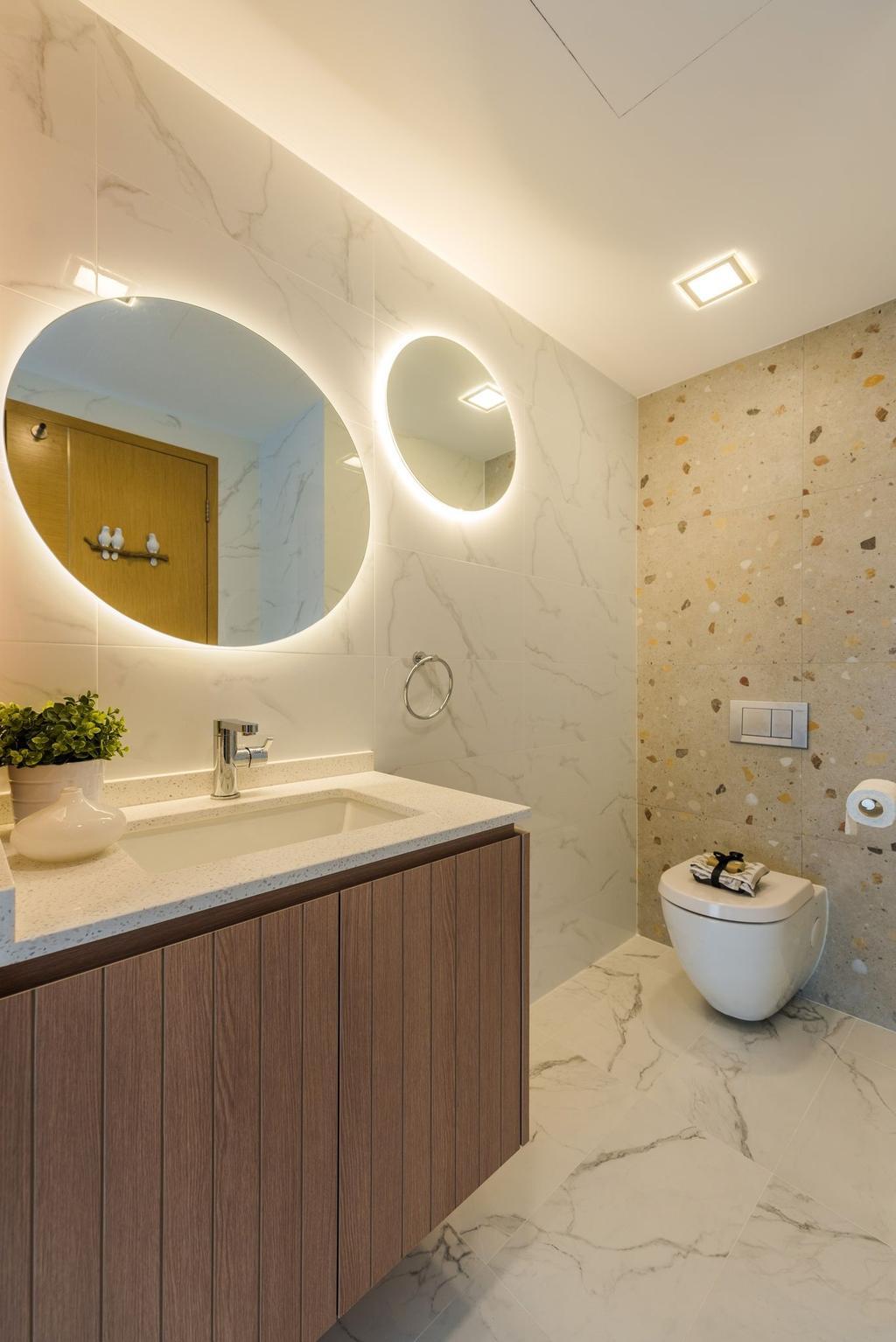 Modern, Condo, Bathroom, Grace Walk, Interior Designer, Thom Signature Design, Contemporary