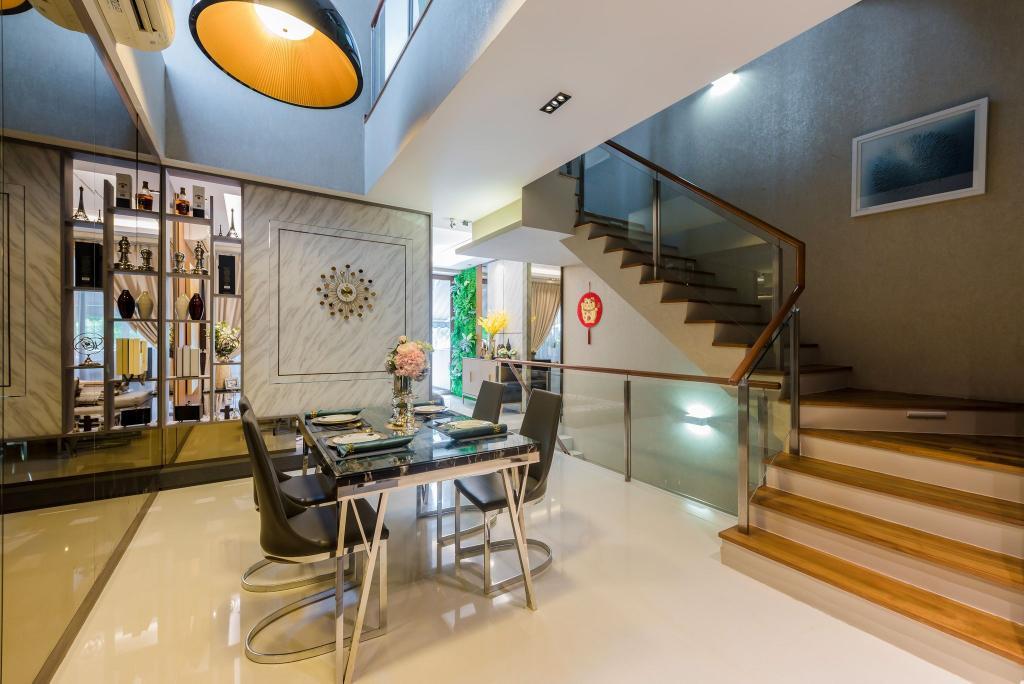 Modern, Condo, Dining Room, Grace Walk, Interior Designer, Thom Signature Design, Contemporary